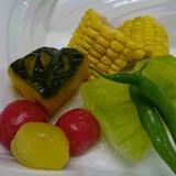 夏野菜の炊きあわせ